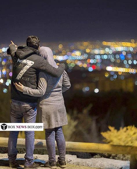 تصاویر لب گرفتن و عشق بازی دختر و پسر ها در اصفهان ~ AliSator