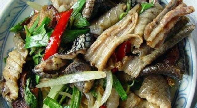 Thịt rắn Đồng Tháp