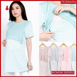 MOM090B13 Baju Atasan Hamil Mely Menyusui Bajuhamil Ibu Hamil