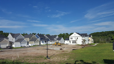 Cook's Farm being built as the first Residential VII development on RT 140