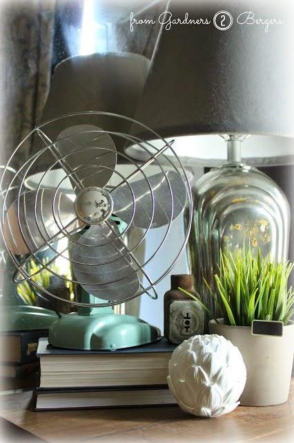 How to Paint Vintage Fan