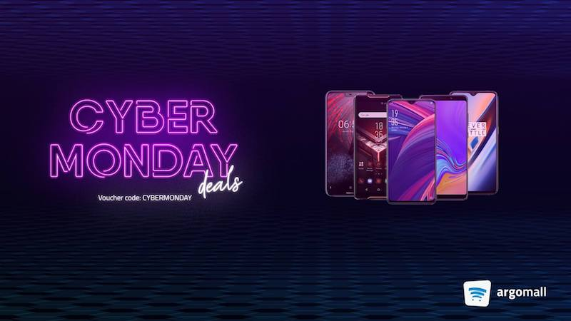 Score up to PHP 3,000 savings with Argomall's Cyber Monday deals!