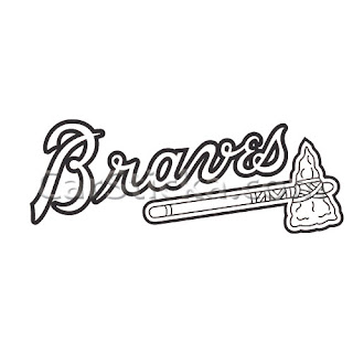 braves mascot coloring pages - photo#8