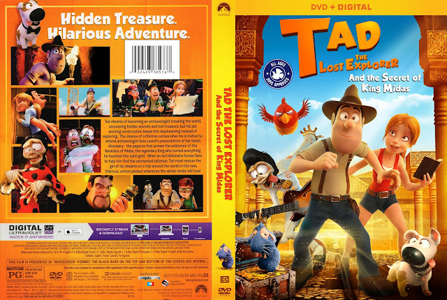 Tad The Lost Explorer And The Secret Of The King Midas DVD Cover
