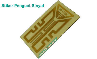 Stiker Penguat Sinyal HP