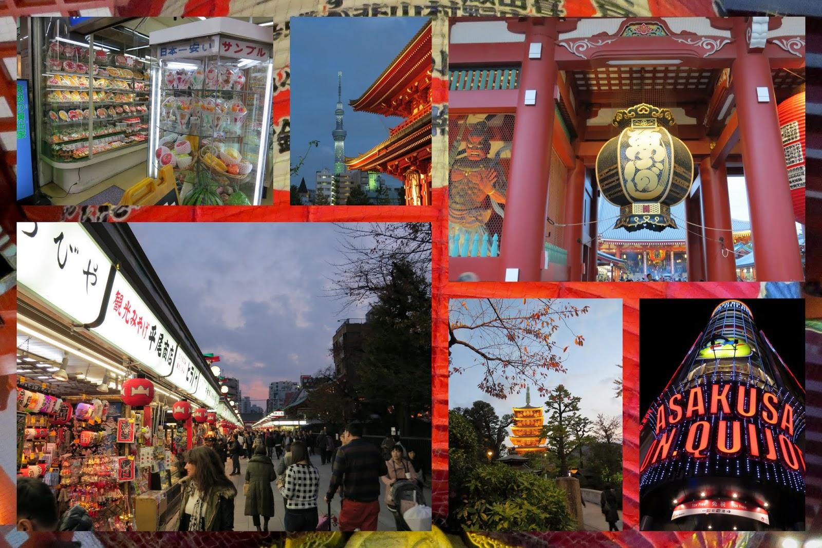 Tokyo neigborhoods: Asakusa