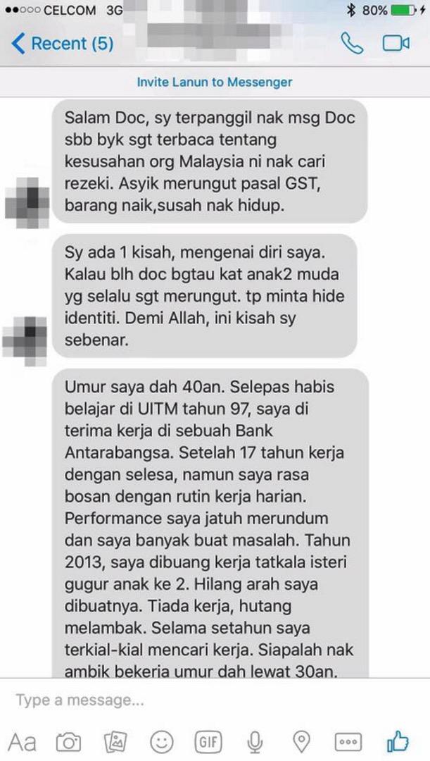 Dibuang Kerja Tatkala Isteri Keguguran, Lelaki Ini Bangkit Sehingga Mampu Jana Pendapatan RM10,000 Sebulan