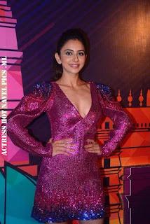 Rakul Preet Singh Hot Cleavage Show Photos