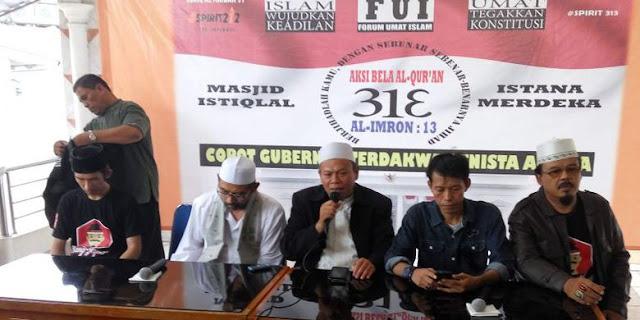 Koordinator Aksi 313 Ustadz Al Khaththath Ditangkap dengan Tuduhan Makar