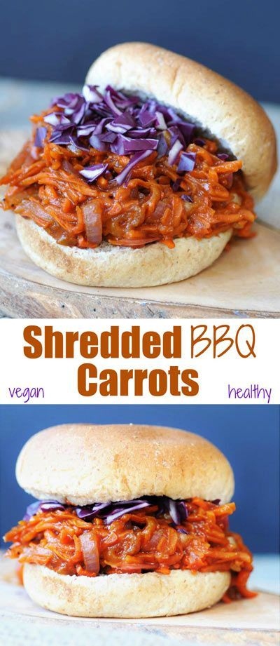 ★★★★☆ 7561 ratings | PULLED BBQ CARROTS #HEALTHYFOOD #EASYRECIPES #DINNER #LAUCH #DELICIOUS #EASY #HOLIDAYS #RECIPE #PULLED #BBQ #CARROTS