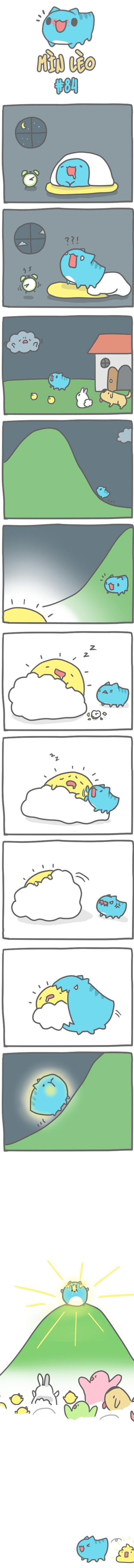 Truyện Mìn Lèo #84: Mặt trời mê ngủ