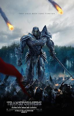 Póster de Transformers el último caballero