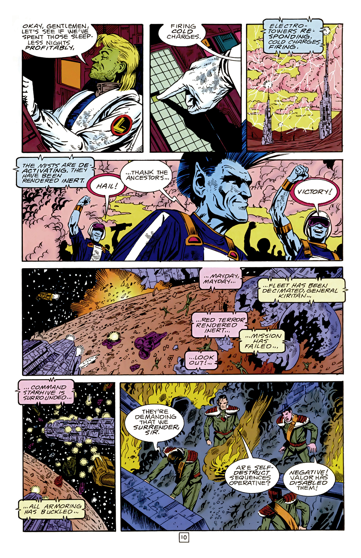 Legion of Super-Heroes (1989) 17 Page 10