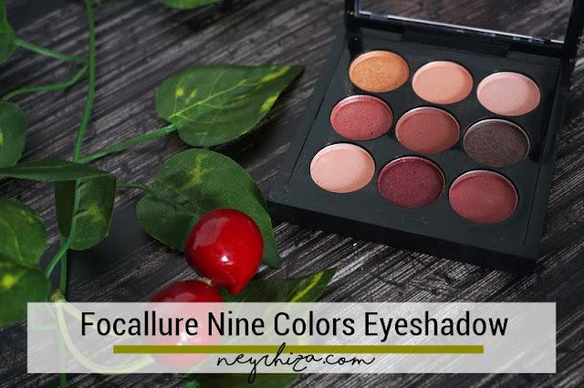 Review Focallure Eyeshadow