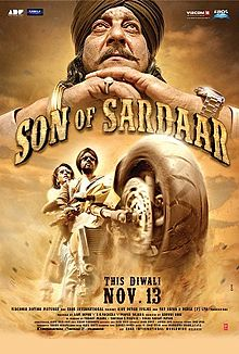 INDIAN CINEMA: SON OF SARDAR MOVIE REVIEW