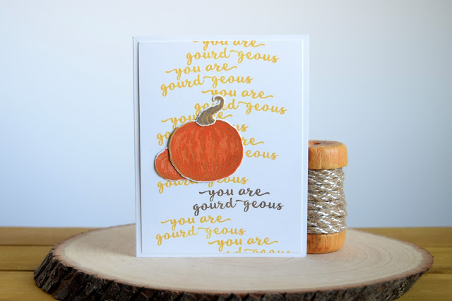 Fall Card with Hero Arts September 2017 Kit by Jess Crafts My Monthly Hero