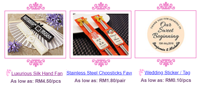 Korean chopsticks, personalized wedding logo stickers