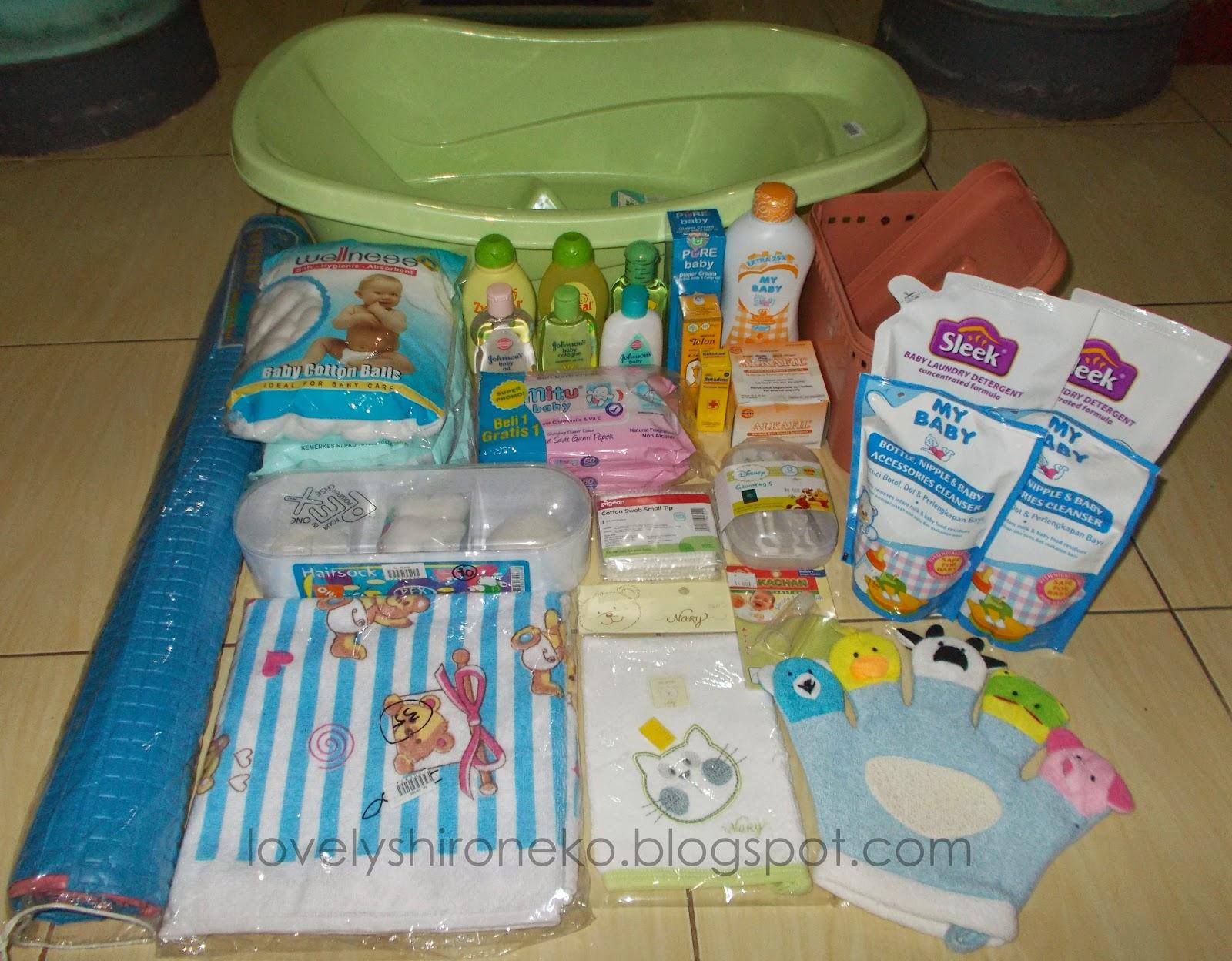 perlengkapan mandi toiletries