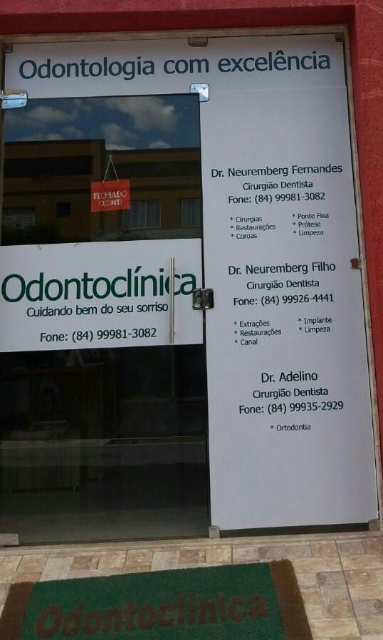 ODONTOCLÍNICA/CARAÚBAS/ MARQUE O SEU HORÁRIO.