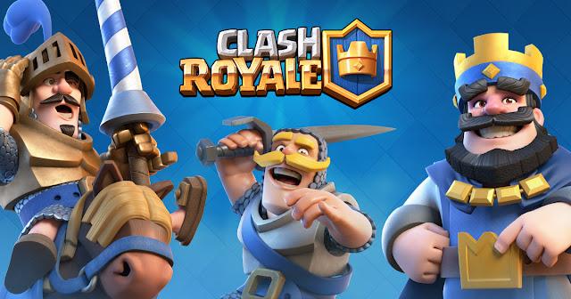 """لعبة كلاش رويال """"Clash Royale"""""""