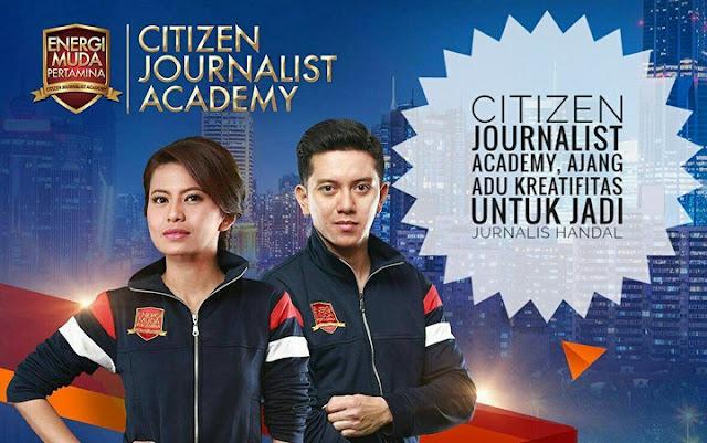 Citizen Journalist Academy, Ajang Adu Kreatifitas Untuk Jadi Jurnalis Handal