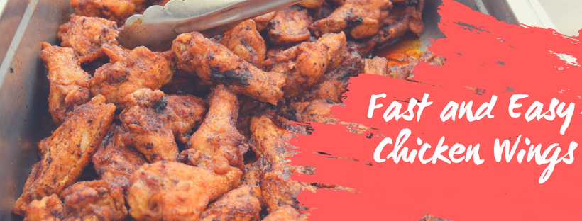 Fast and Easy Chicken Wings