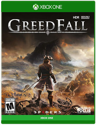 Greedfall Game Cover Xbox One