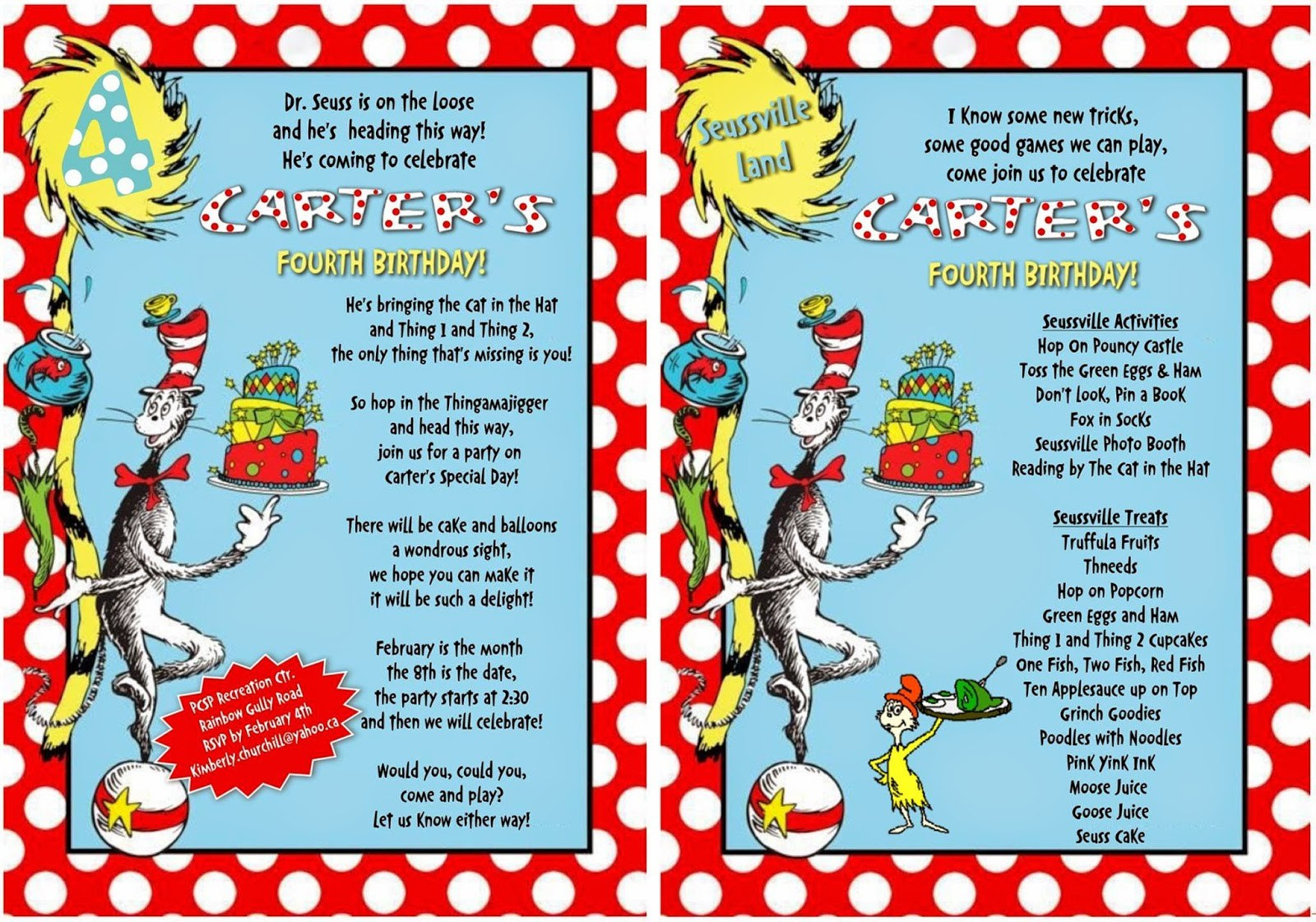 278d3309c36ef Dr. Seuss On The Loose - Cat In The Hat Green Eggs And Ham