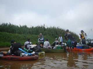 2 ª Expedição de Caiaque no Rio Ribeira percurso Sete Barras á Registro-SP