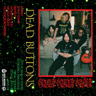 DEAD BUTTONS live garage rock from Korea