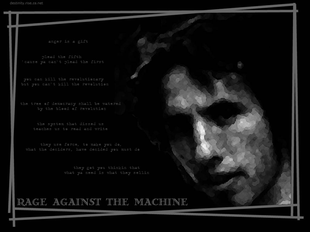 Great Wallpaper Everyday Darkzack Rage Against The Machine