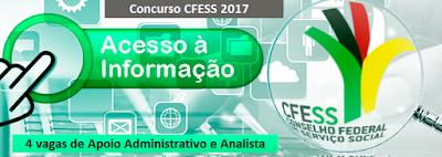 Edital Concurso CFESS 2017