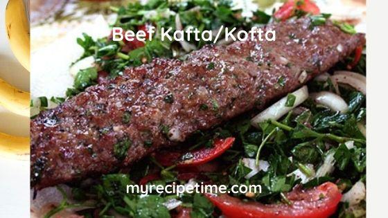 Beef Kafta/Kofta