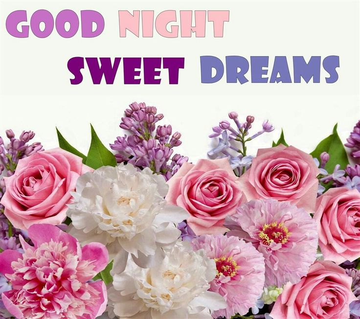 Beautiful Good Night Sweet Dreams Flowers
