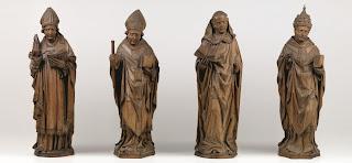 美術館 情報 アートアジェンダ アルント・ファン・ズヴォレ(推定) 四大ラテン教父 (聖アウグスティヌス、聖アンブロシウス、聖ヒエロニムス、聖グレゴリウス) 1480年
