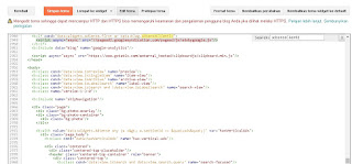 Cara menambahkan kode adsense auto ads pada template Contempo