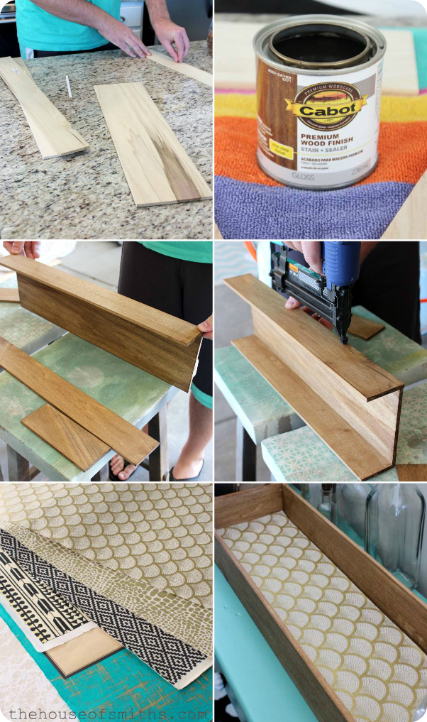 DIY small stained wooden box - thehouseofsmiths.com