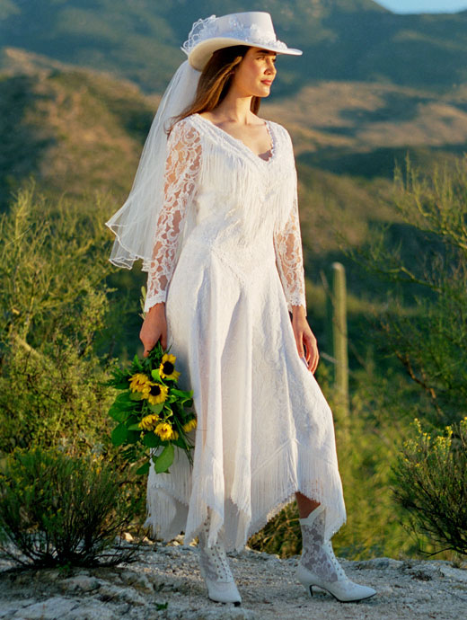 Last Week We Ran Something In Lace An Editorial Featuring A Dresses By Recapture That Would Rock For Any Country Western Wedding