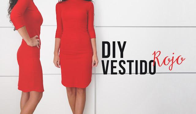 DIY-VESTIDO-AJUSTADO-ROJO