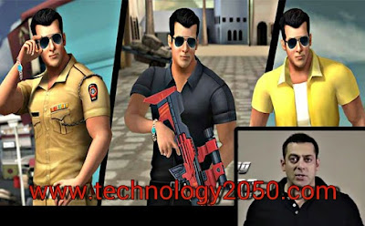 Salman Khan launched his Action Game