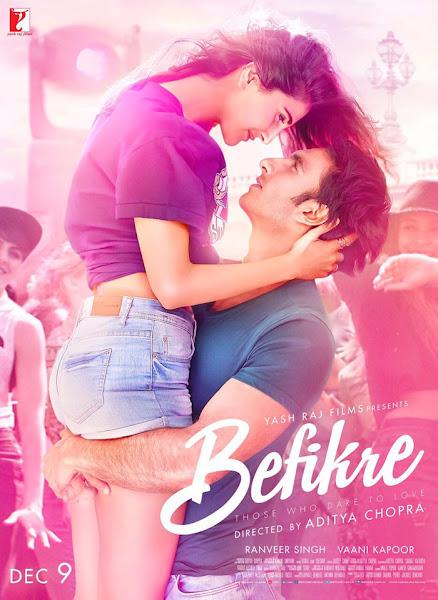 Befikre 2016 Hindi 720p HDRip Full Movie Download extramovies.in Befikre 2016