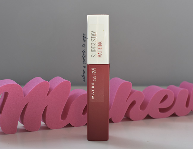 Super Stay Matte Ink de Maybelline tono 20 Pioneer