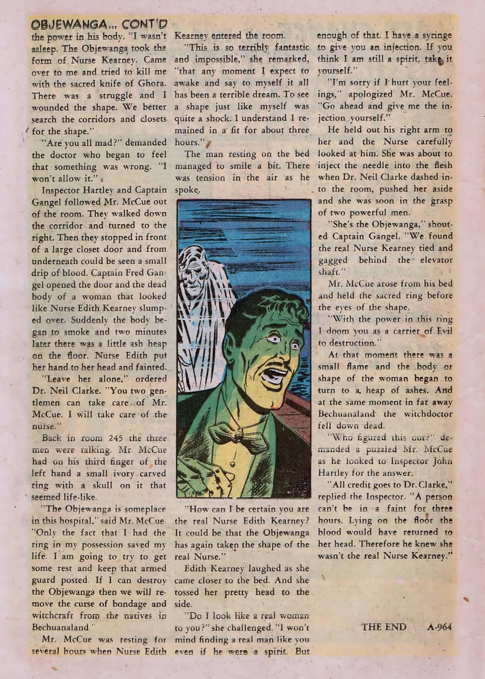 Read online Adventures into Weird Worlds comic -  Issue #10 - 15