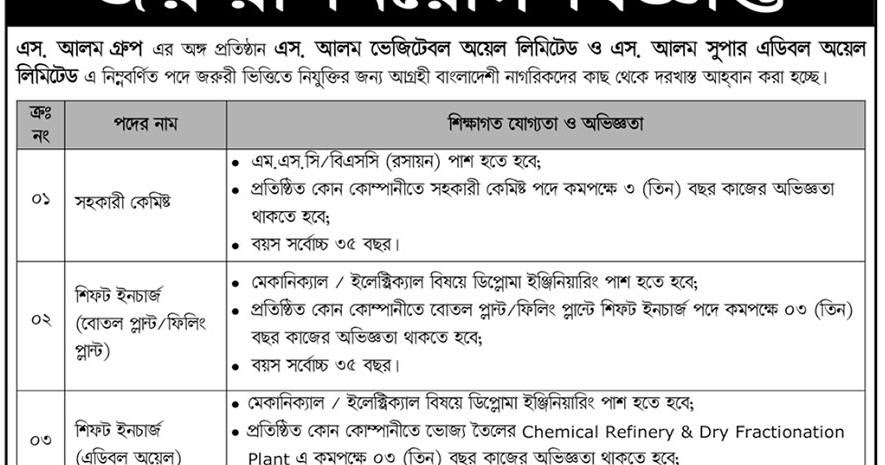 Bpsc 39th Special Circular 2018 Shonar Bd Jobs (13) - Engaging