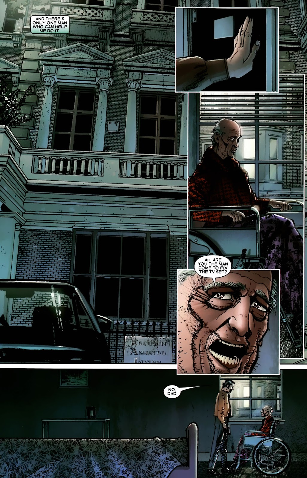 Read online Wolverine (2003) comic -  Issue #56 - 25