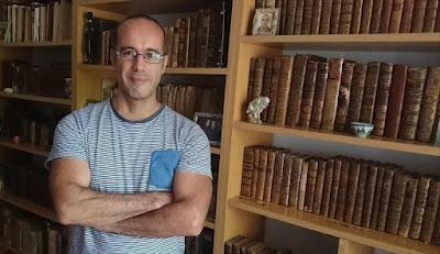 Javier Sachez García, autor de 'Manual de pérdidas' - Cine de Escritor