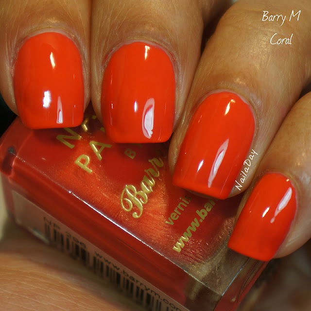 NailaDay: Barry M Coral