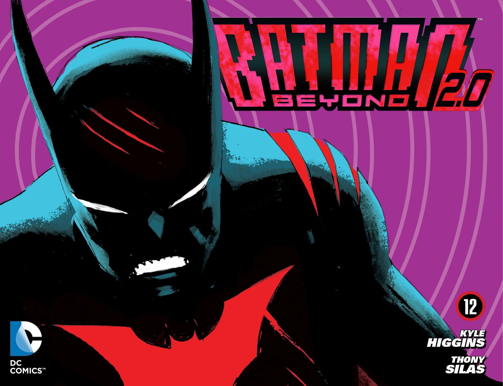 Batman Beyond 2.0 12 Page 1