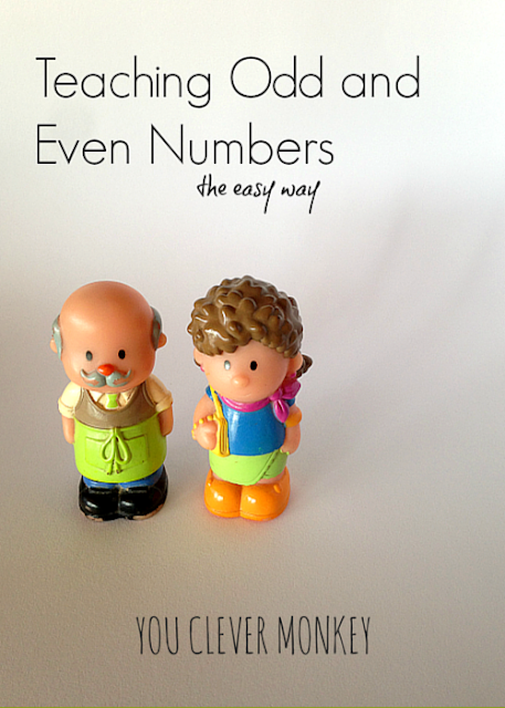 How to teach children odd and even numbers the easiest way - the secret to how to teach odd and even numbers to young children | you clever monkey