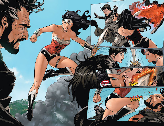 wonder woman vs zod